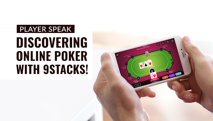 My First Foray into Online Poker made Easy by 9stacks Banner
