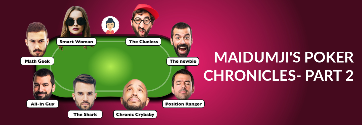 Maidumji's Poker Chronicles - Part 2Banner