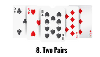 two pair poker