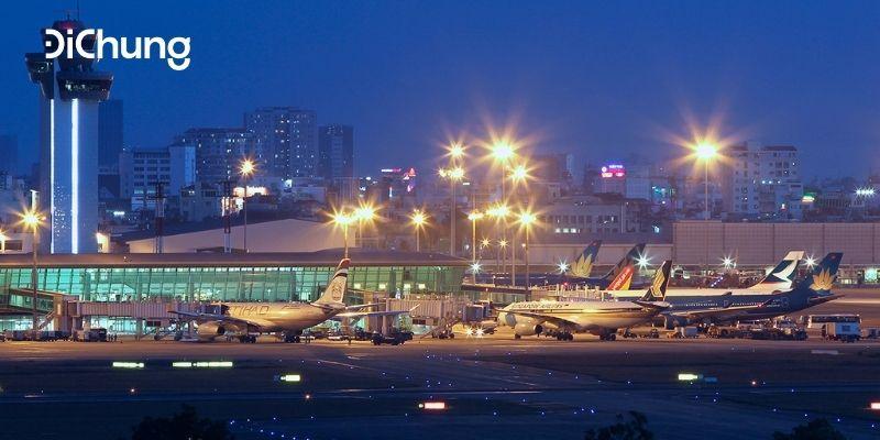 taxi đi sân bay Tân Sơn Nhất 1