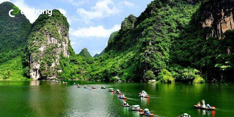 Hà Nội Tràng An bao nhiêu km 2