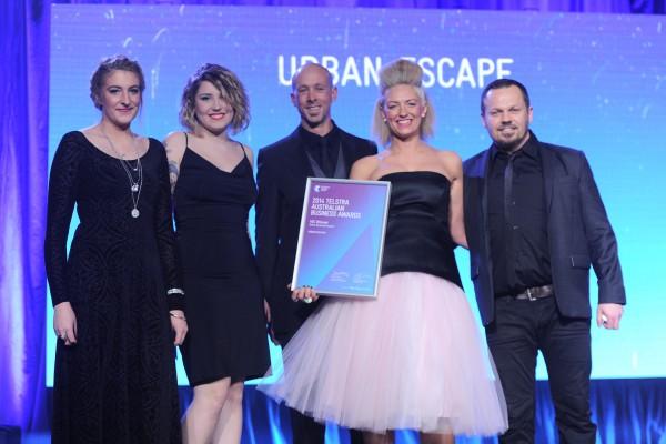 TBA Photo - Micro Business - Urban Escape team - VIC Awards