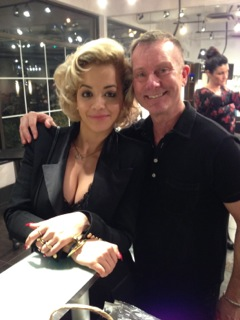 Martin and Rita Ora