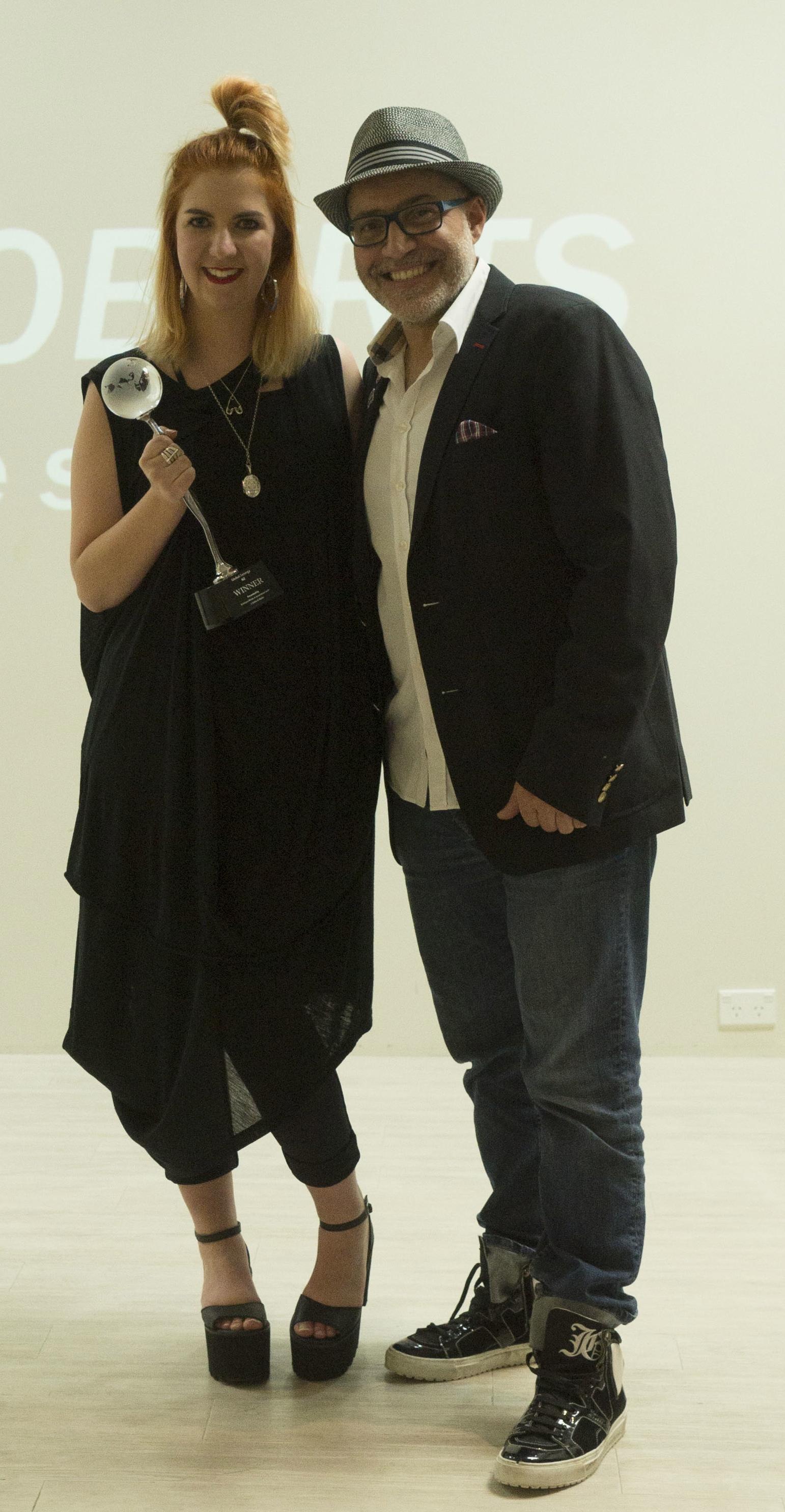Global.Synergy NZ 2014 winner Kiri Kirkby & Emiliano Vitale