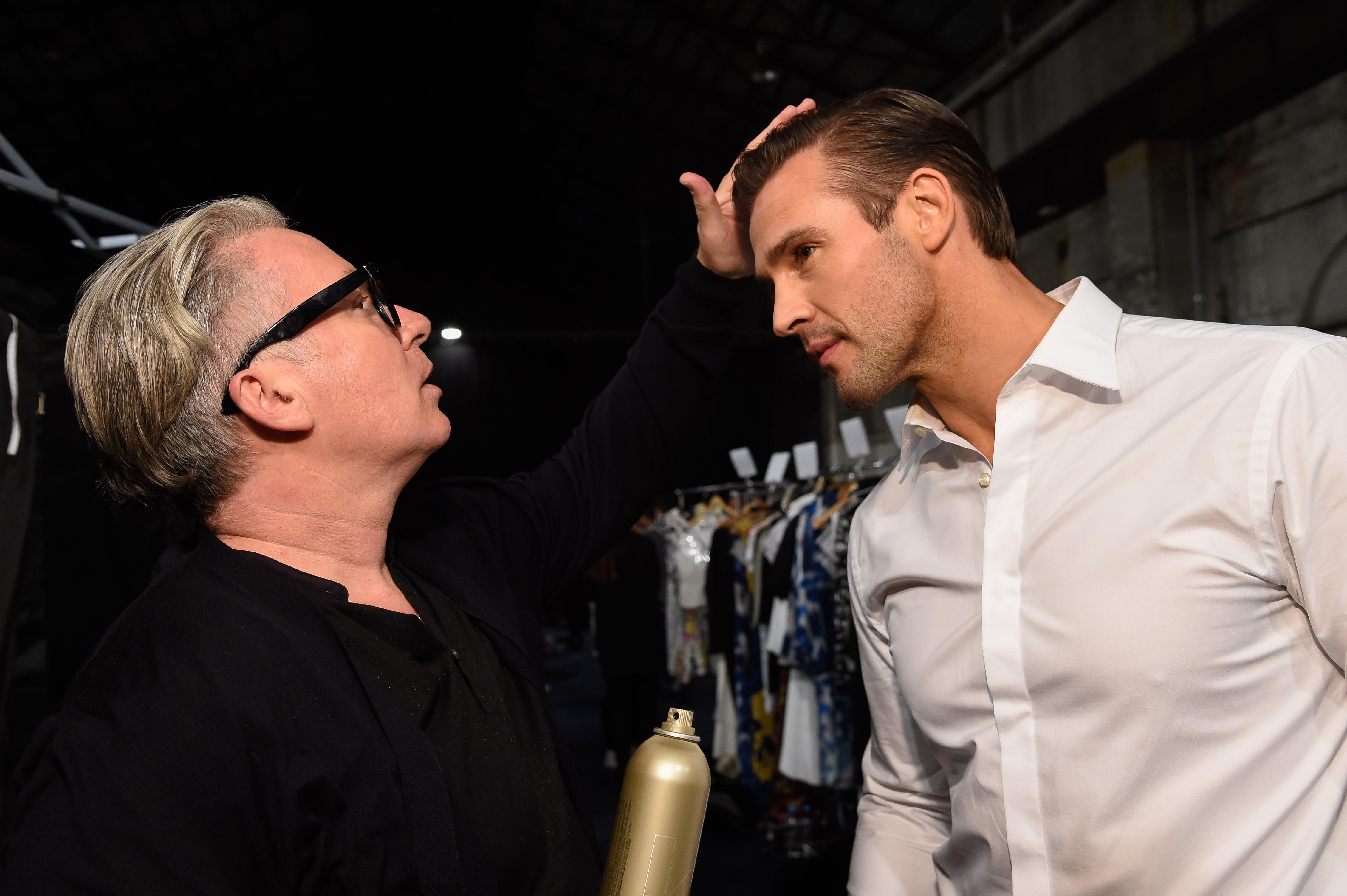 Kevin Murphy styling Kris Smith (2)
