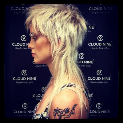 hair by Damien Rinaldo Instagram shot