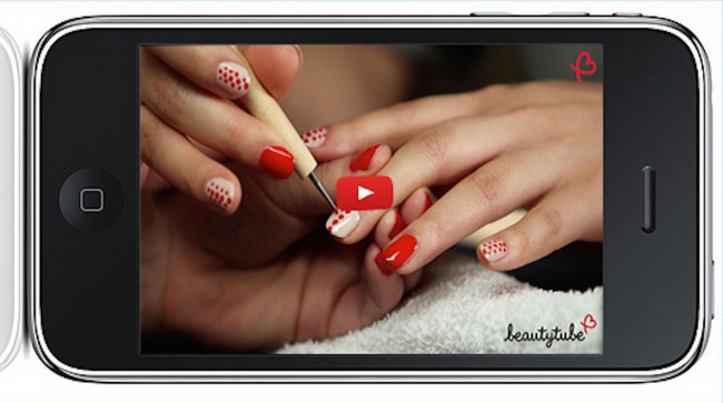 beautytube nails iphone