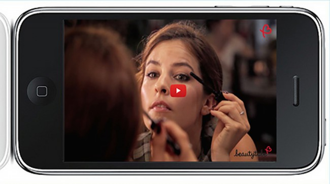 beautytube makeup iphone
