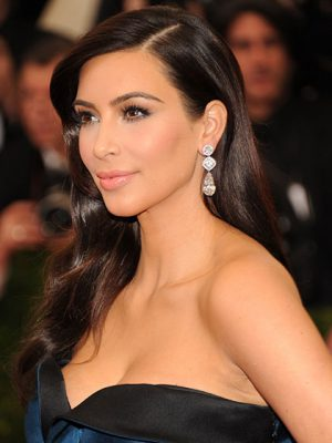 """NEW YORK, NY - MAY 05: Kim Kardashian attends the """"Charles James: Beyond Fashion"""" Costume Institute Gala at the Metropolitan Museum of Art on May 5, 2014 in New York City. (Photo by Kevin Mazur/WireImage)"""