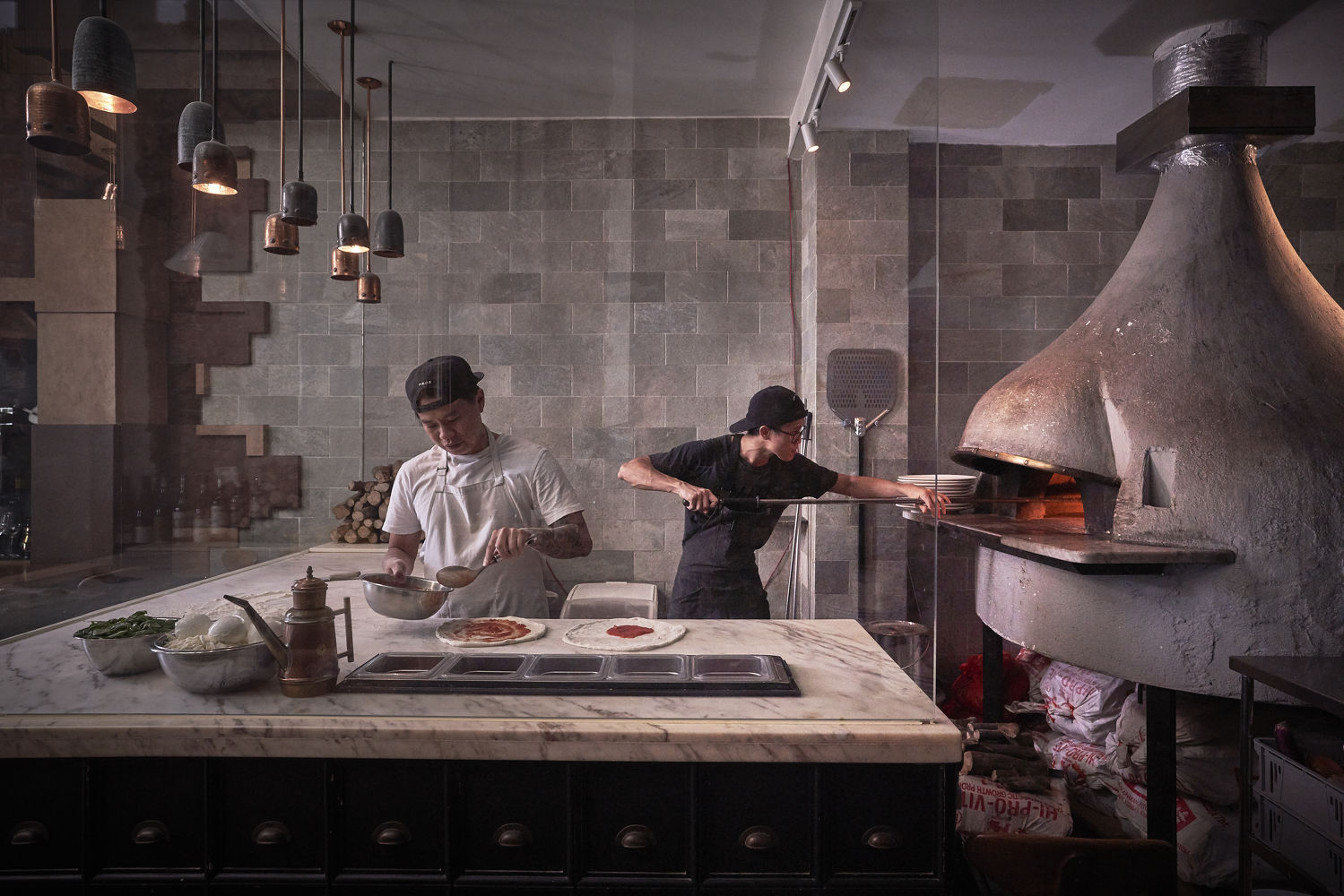 Chef Aun Pizzaiolo - THE EDGE SINGAPORE