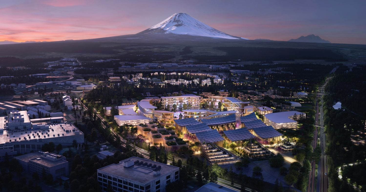 Smart city at the foot of mount fuji - THE EDGE SINGAPORE