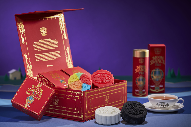 Moon Dance Tea Mooncake Music Box Collection - THE EDGE SINGAPORE