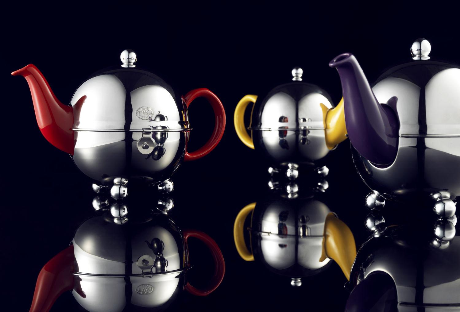 Design Orchid teapot collection - THE EDGE SINGAPORE