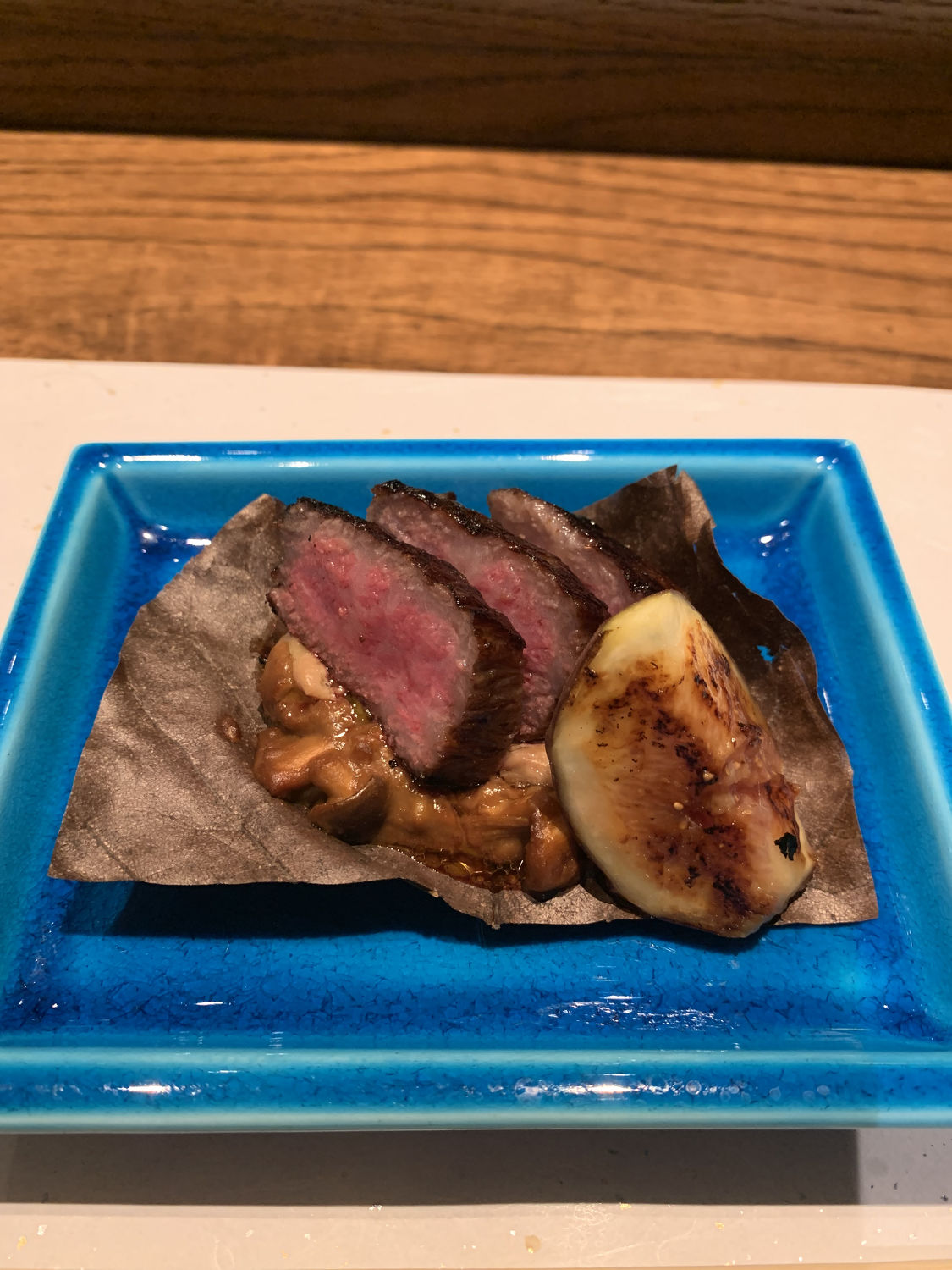 Grilled Wagyu Beef - THE EDGE SINGAPORE