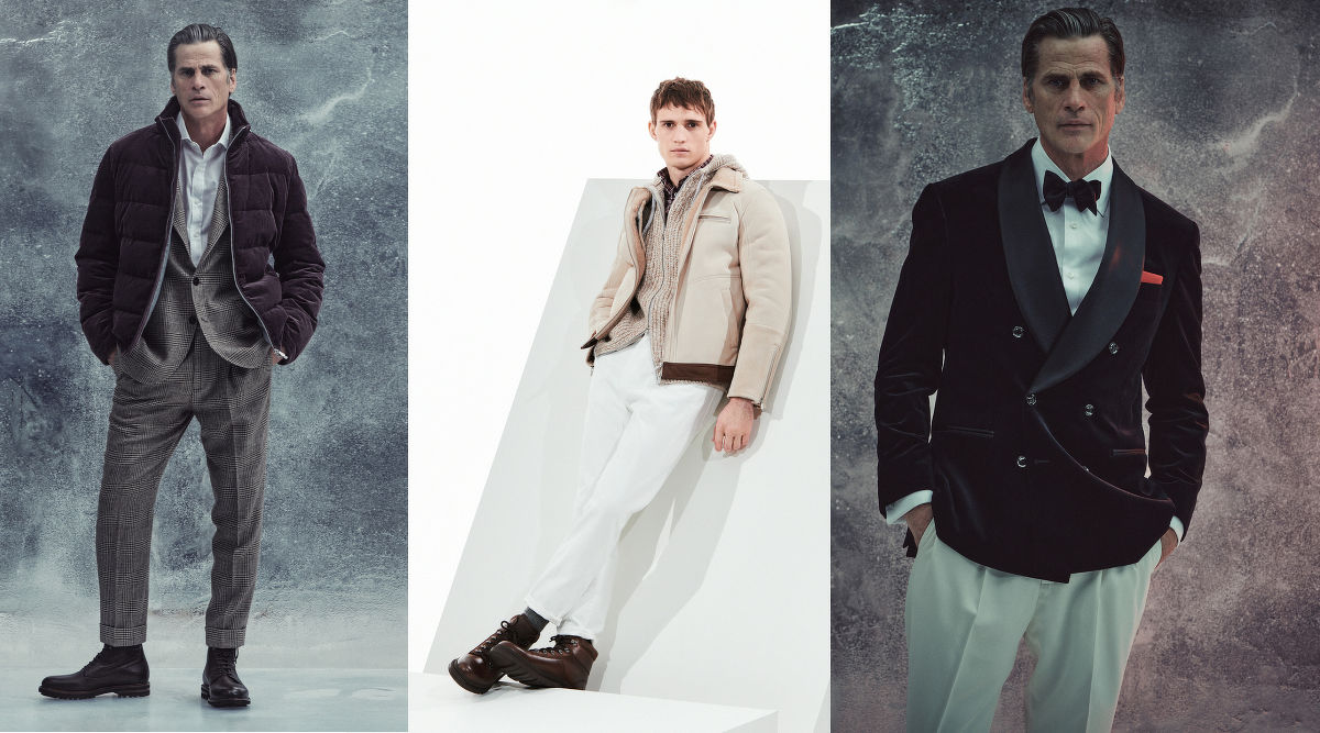 Cucinelli's mens collection - THE EDGE SINGAPORE