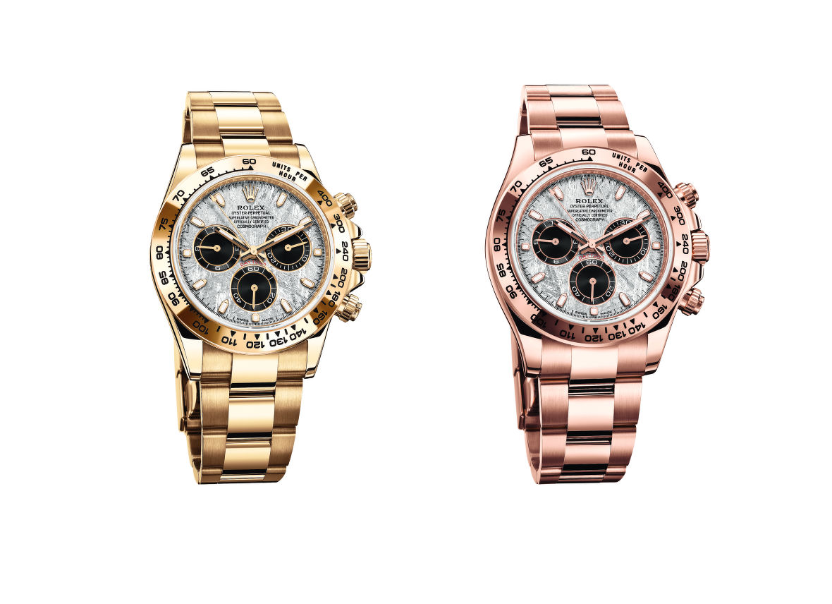 Oyster Perpetual Cosmograph Daytona in gold and Everose gold - THE EDGE SINGAPORE