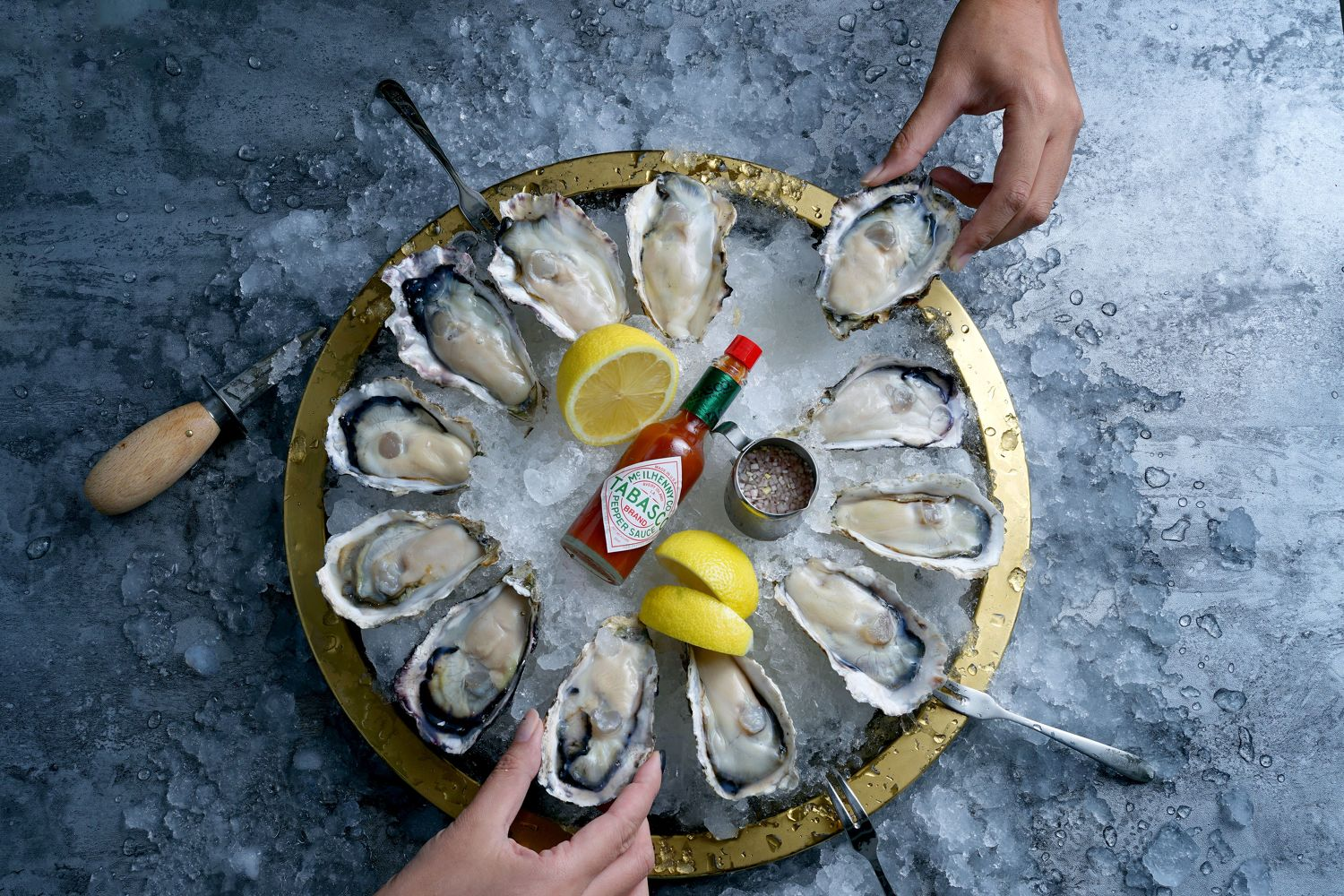 Naked Raw Oysters - THE EDGE SINGAPORE