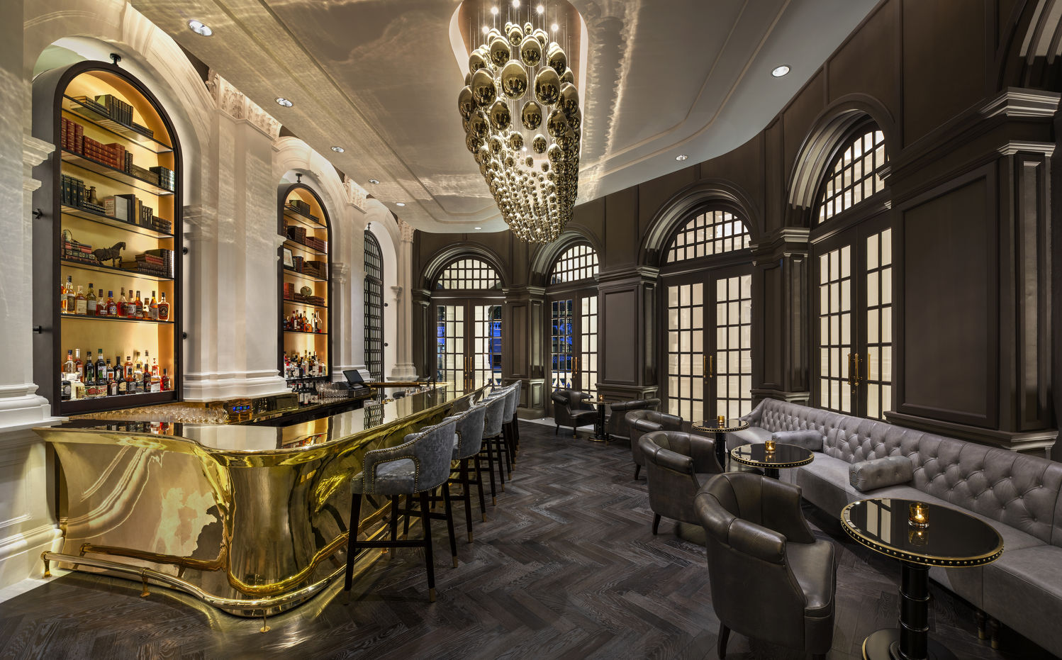 Writers Bar located at the Grand Lobby of Raffles Hotel Singapore - THE EDGE SINGAPORE