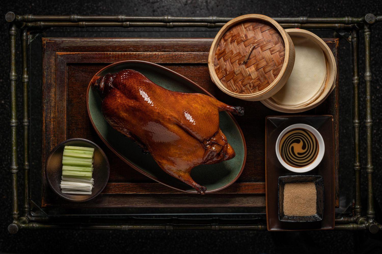Applewood Roasted Peking Duck - THE EDGE SINGAPORE