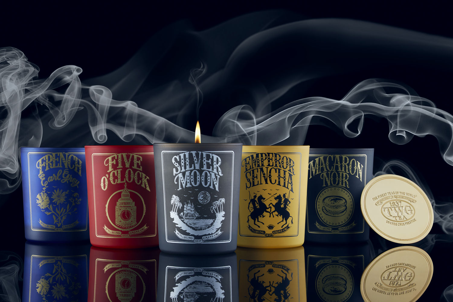 Scented candle collection - THE EDGE SINGAPORE