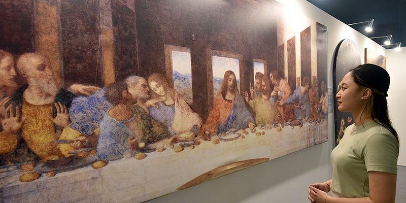 Da Vinci The Exhibition - THE EDGE SINGAPORE