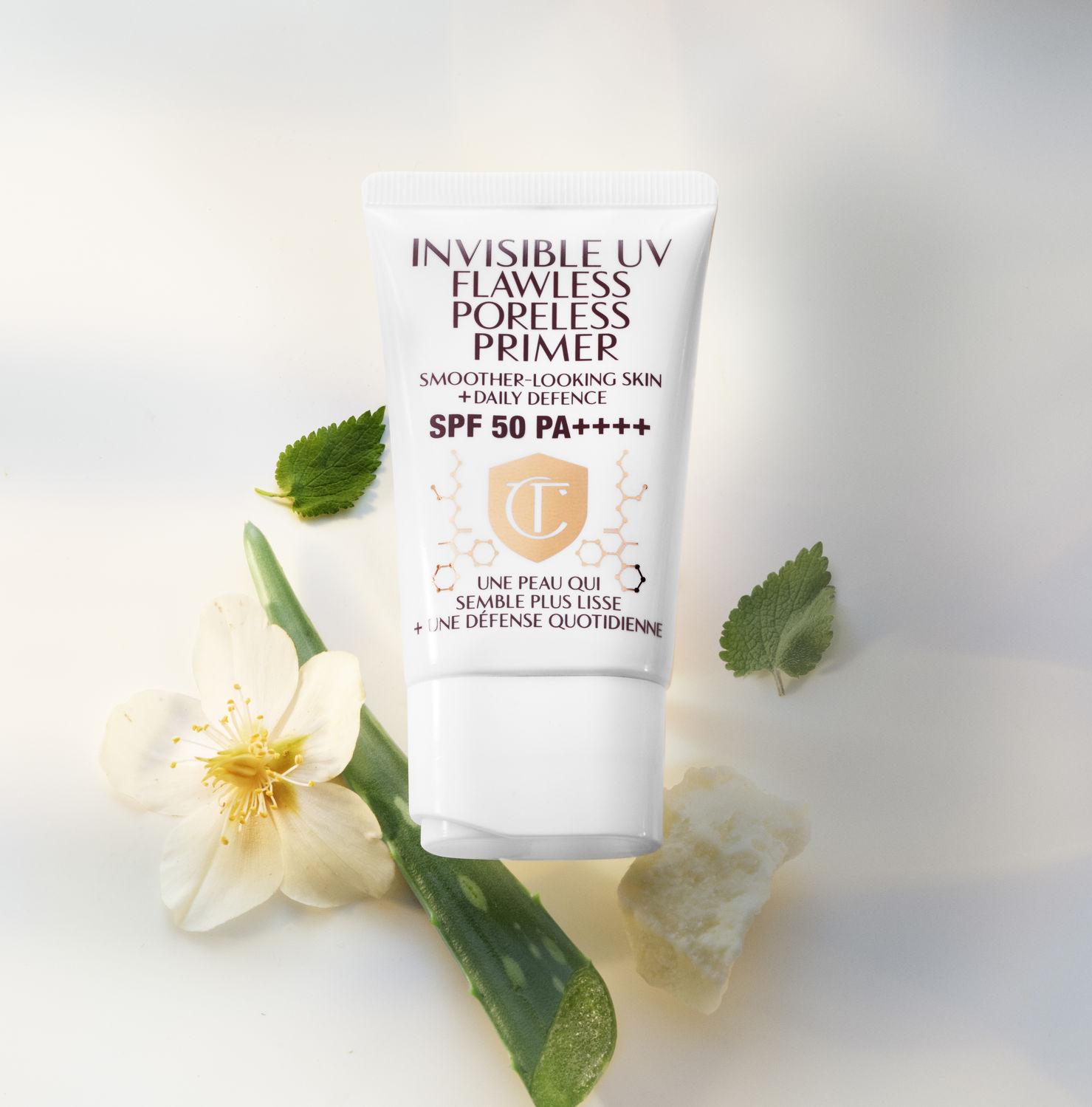 Charlotte Tilbury Invisible UV Flawless Poreless Primer SPF 50 PA - THE EDGE SINGAPORE