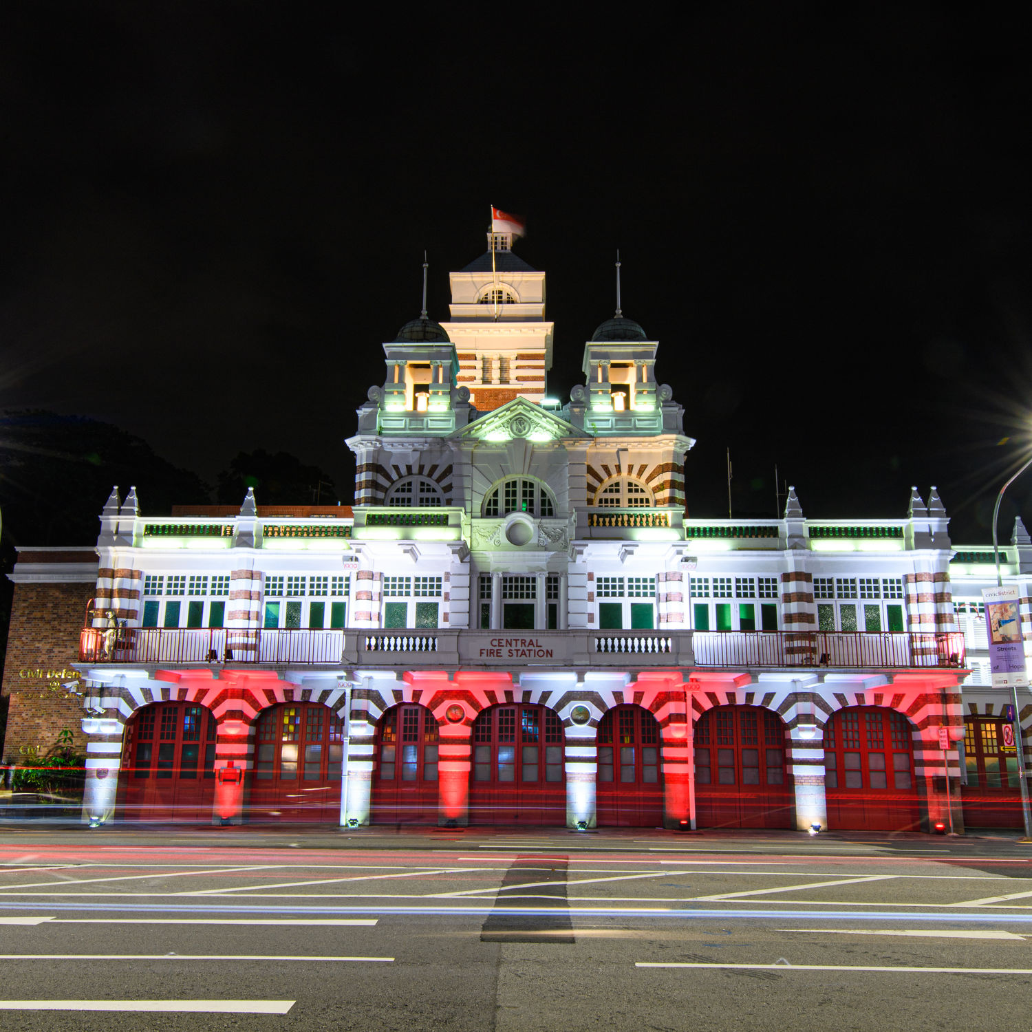 Central Fire Station - THE EDGE SINGAPORE
