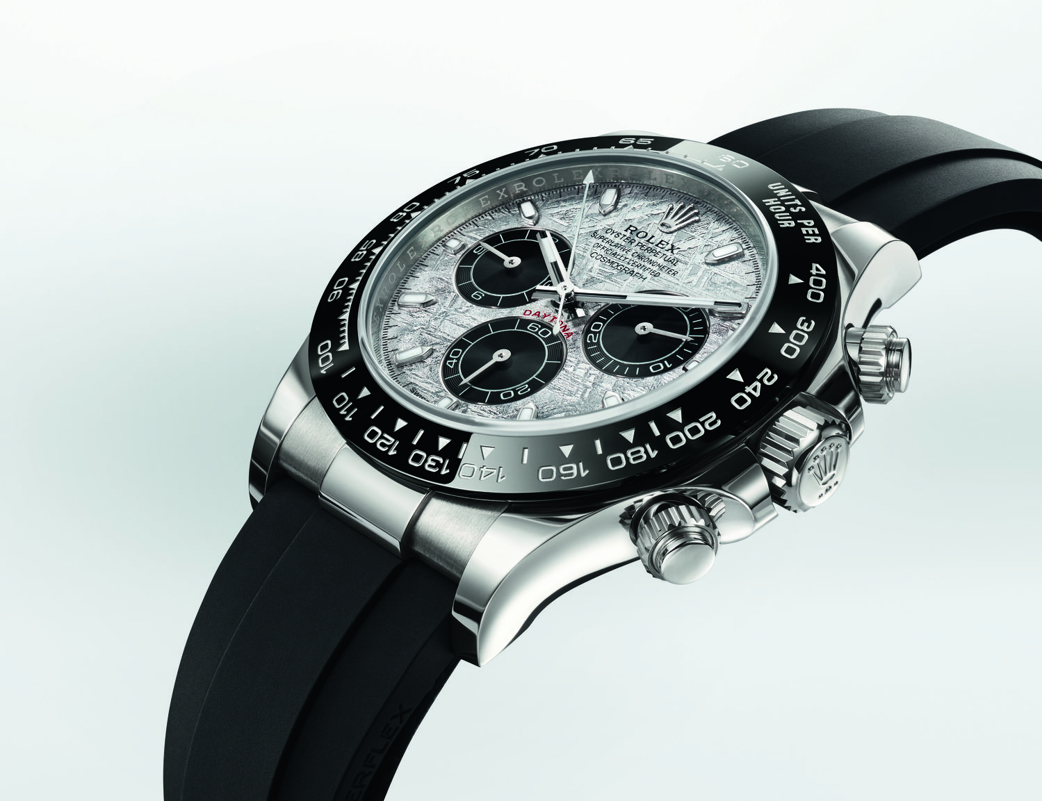 Oyster Perpetual Cosmograph Daytona in 18 ct white gold - THE EDGE SINGAPORE