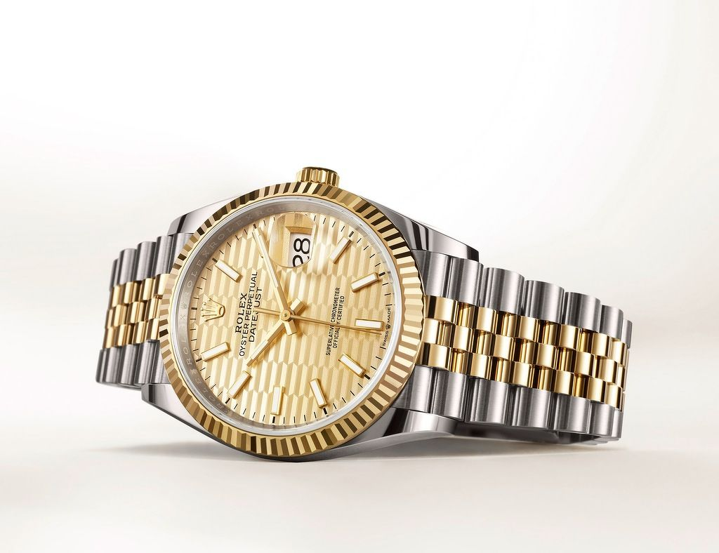 the new Oyster Perpetual Datejust 36 - THE EDGE SINGAPORE