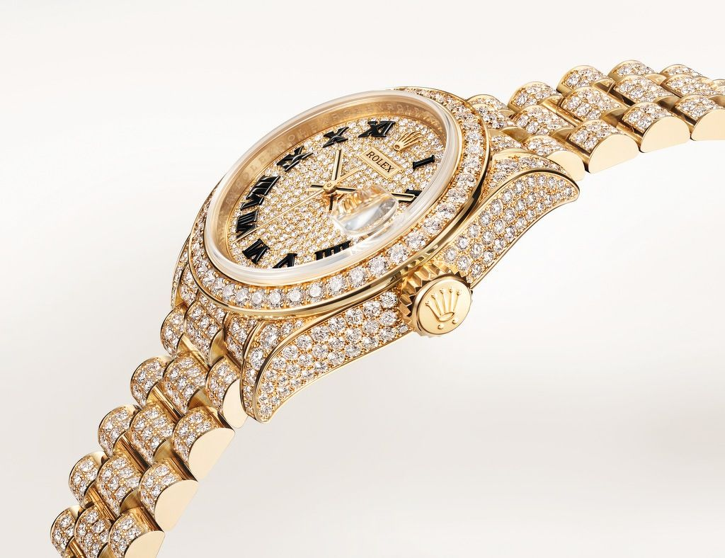 Oyster Perpetual Lady-Datejust - THE EDGE SINGAPORE