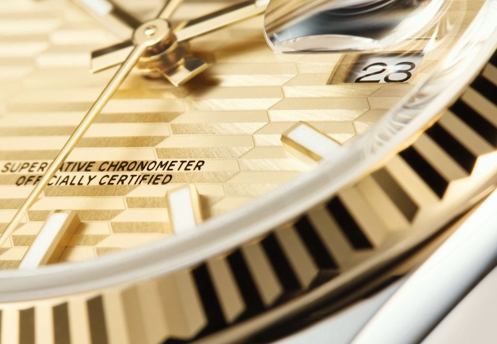 The Cyclops lens on the new Oyster Perpetual Datejust 36 - THE EDGE SINGAPORE