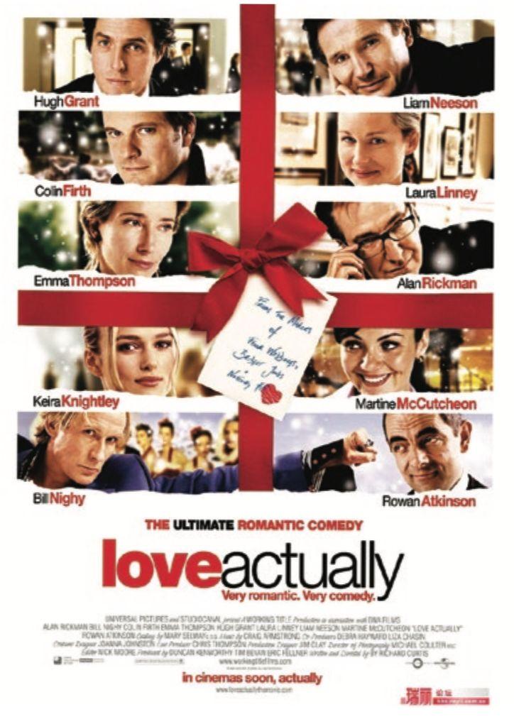 Love Actually (2003) - THE EDGE SINGAPORE