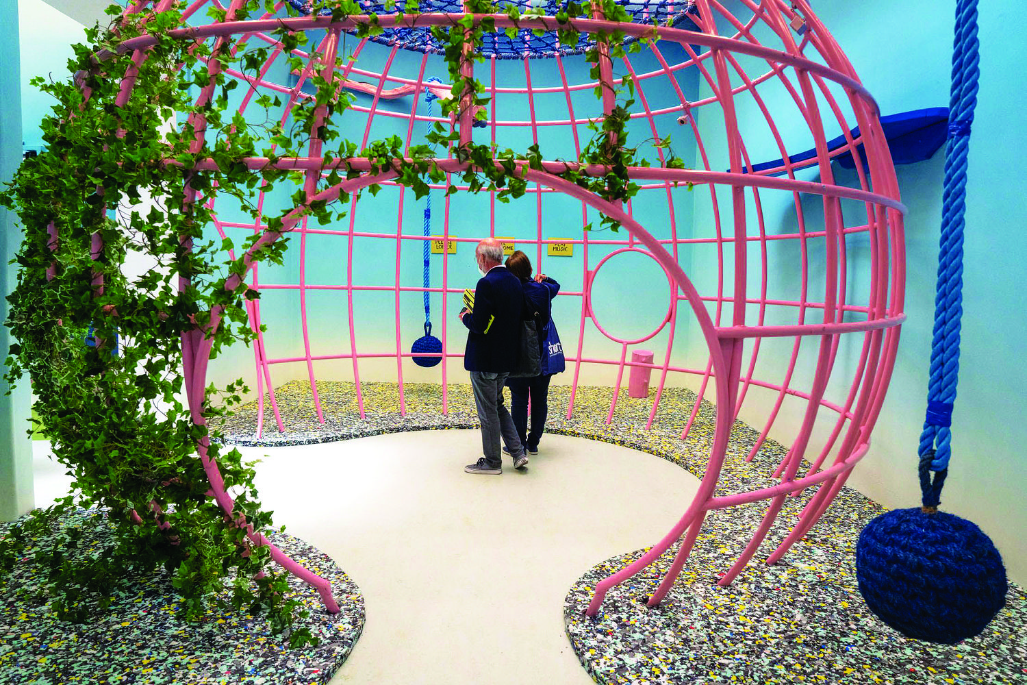 Garden of Privatised Delights at the UK Pavilion - THE EDGE SINGAPORE