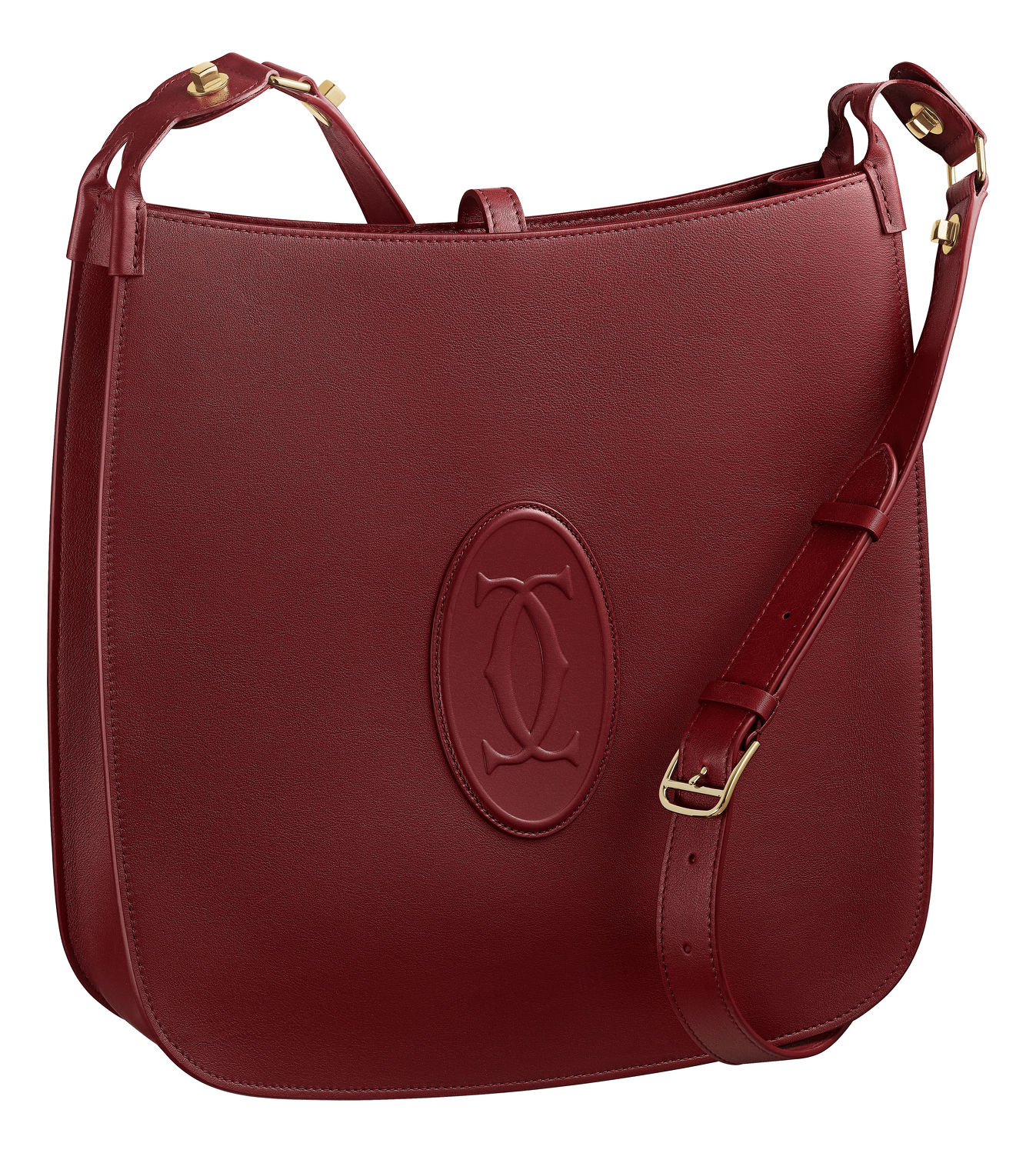 The Must Game bag by Cartier in Burgundy - THE EDGE SINGAPORE