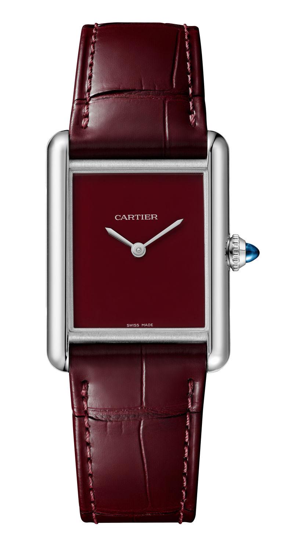 cartier watch brown