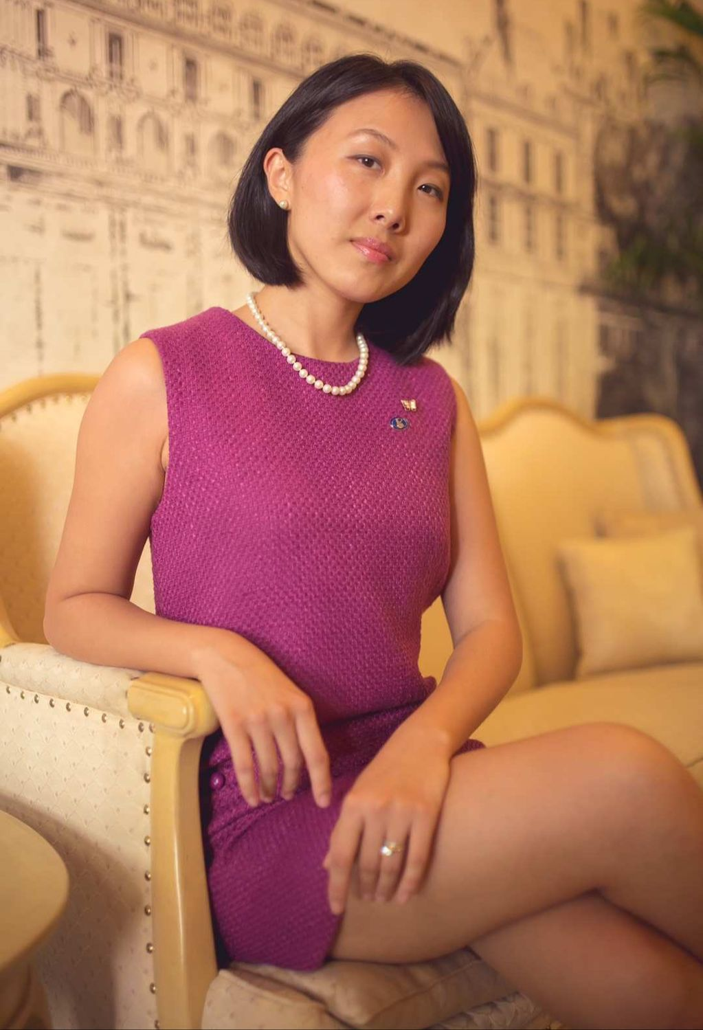 Purple Gao  head sommelier Resorts World Sentosa - THE EDGE SINGAPORE