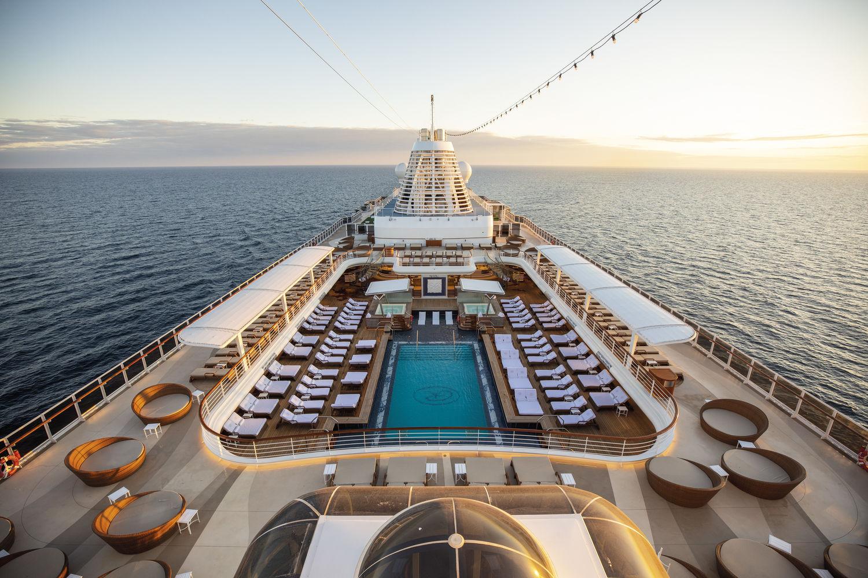 Seven Seas Splendor Pool Deck - THE EDGE SINGAPORE