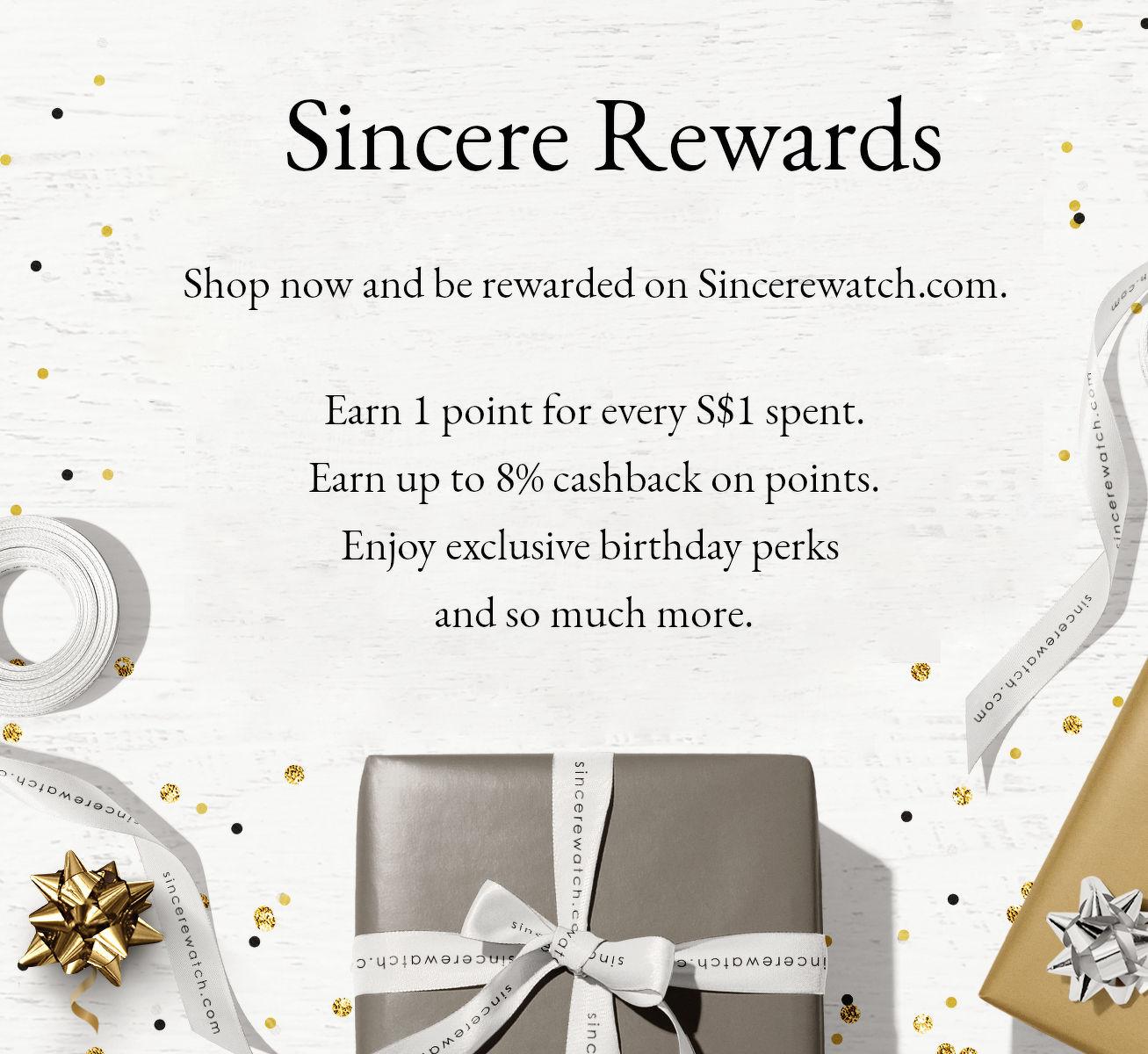 Sincere Rewards - THE EDGE SINGAPORE