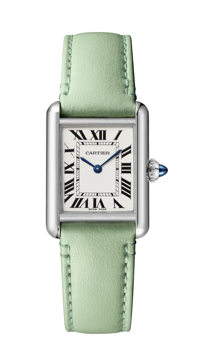 cartier watch green