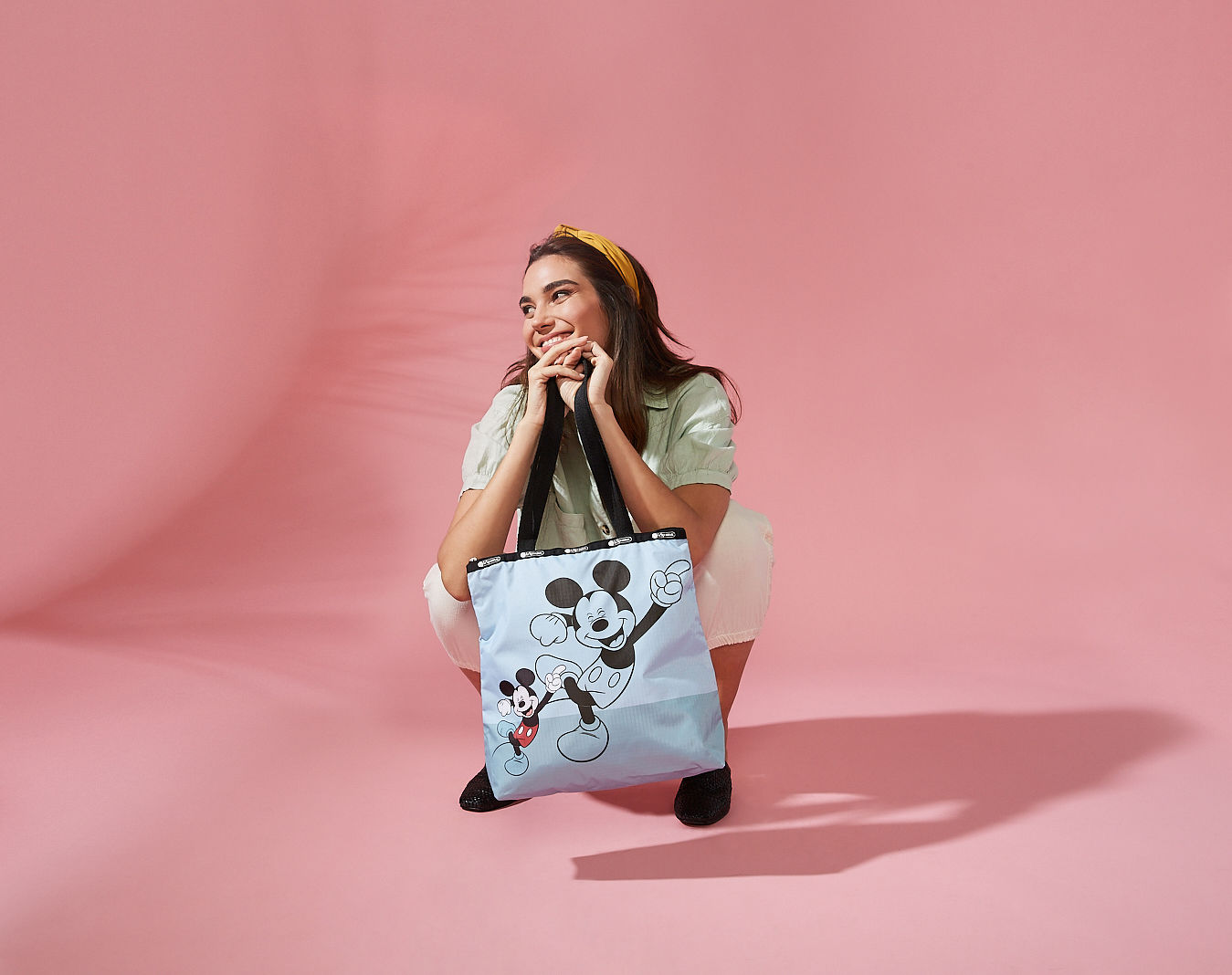 Summer Mickey and Friends capsule collection by LeSportsac and Disney - THE EDGE SINGAPORE