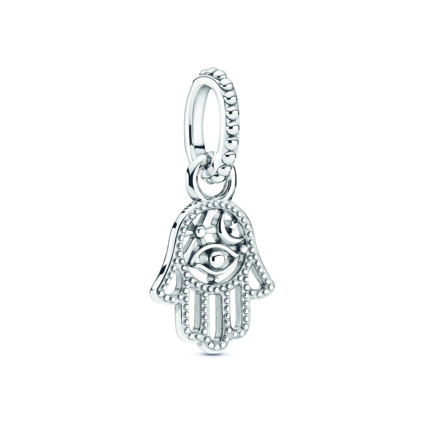 Pandora-Symbols-Protective-Hamsa-Hand-Dangle-Charm - THE EDGE SINGAPORE