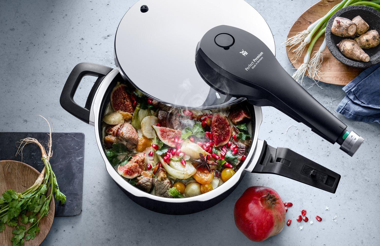 WMF Perfect Premium Pressure Cooker - THE EDGE SINGAPORE