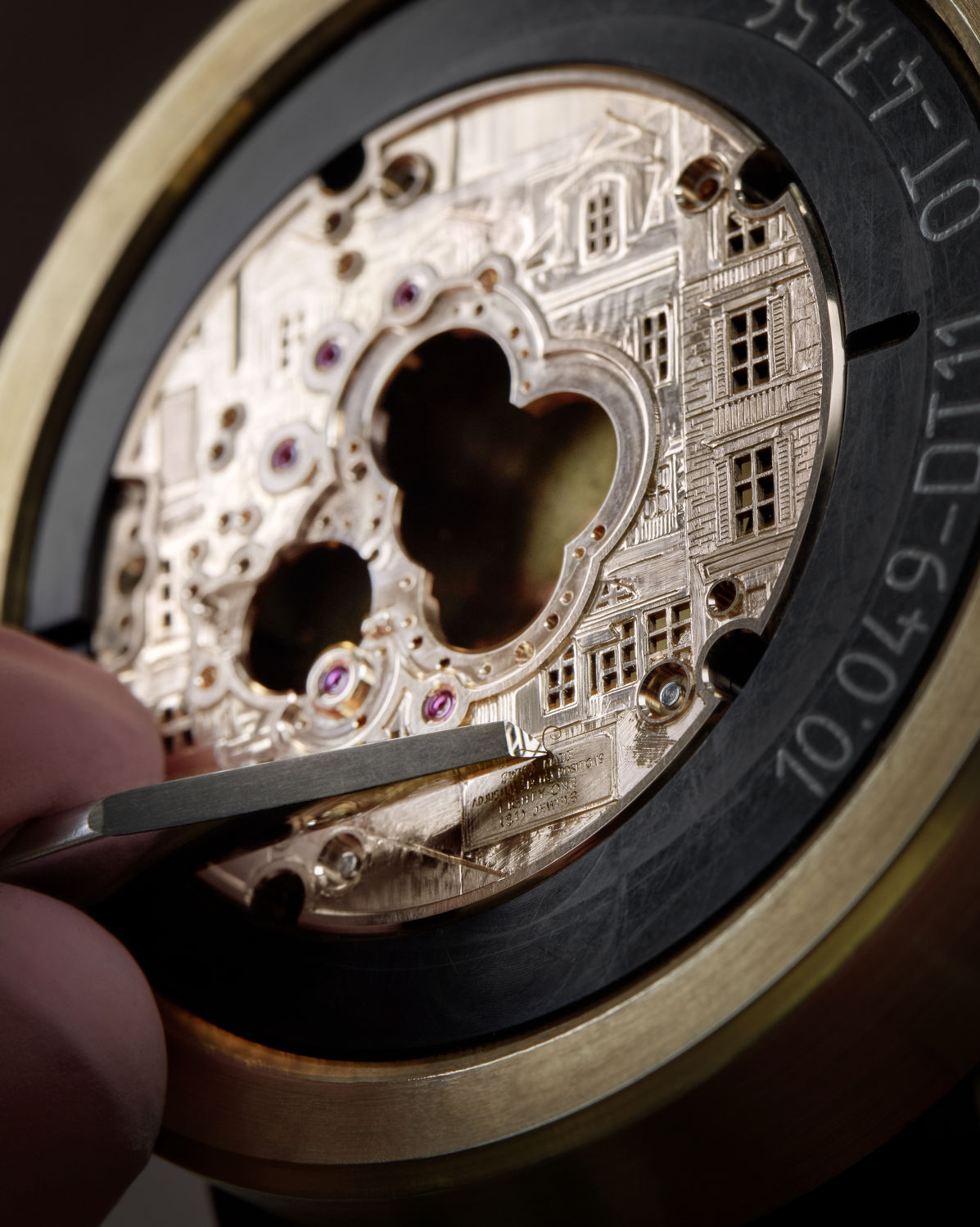 Breguet engraving-on-gold - THE EDGE SINGAPORE