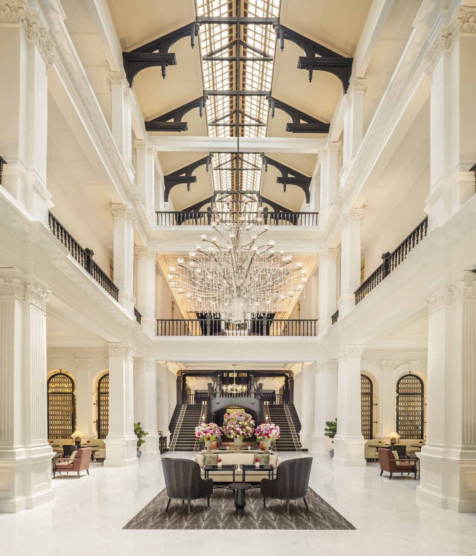 Grand-Lobby - THE EDGE SINGAPORE