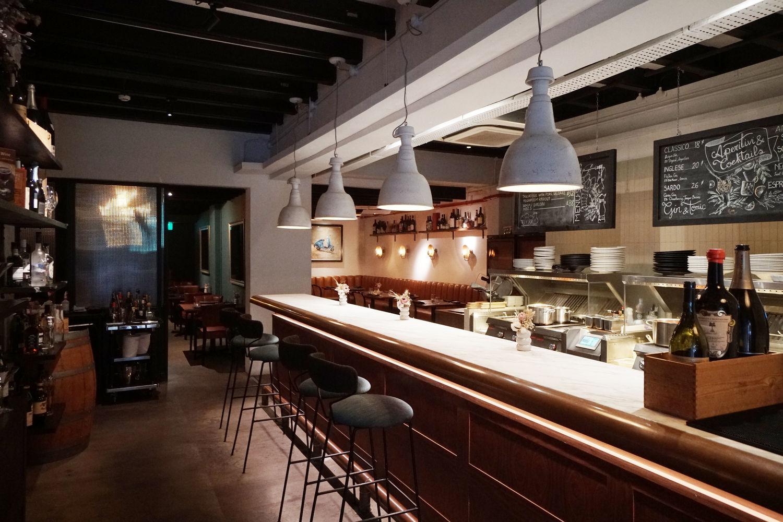 Solo Ristorante Open Kitchen - THE EDGE SINGAPORE
