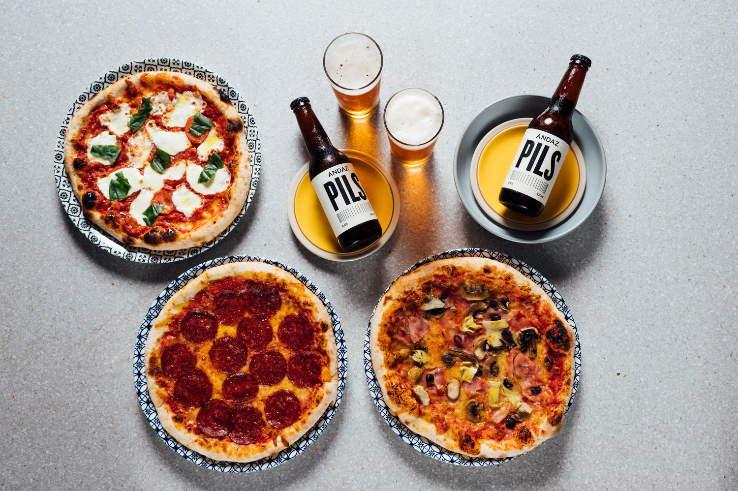 Pizza and Pilsner Night - THE EDGE SINGAPORE