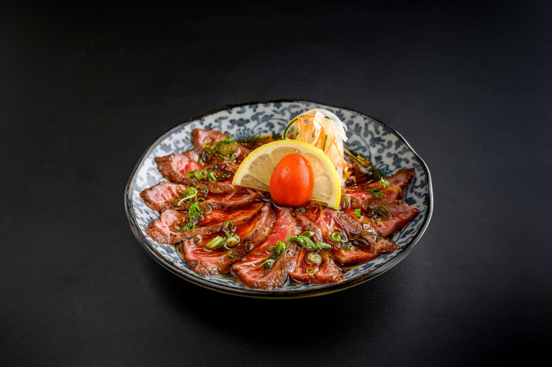 En-Dining-Beef-Truffle-Carpaccio - THE EDGE SINGAPORE