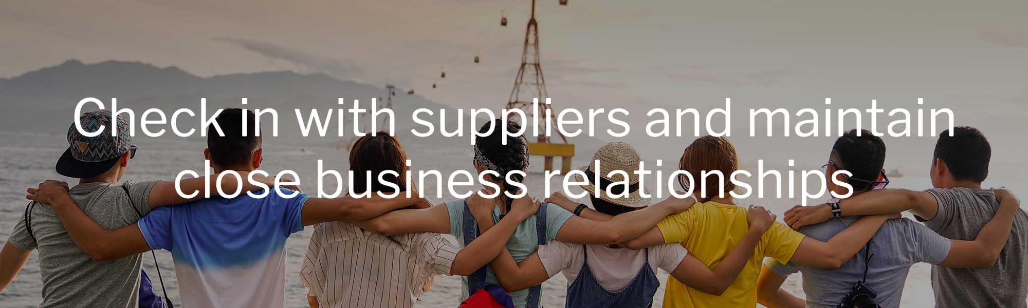 supplier relationships in tourism
