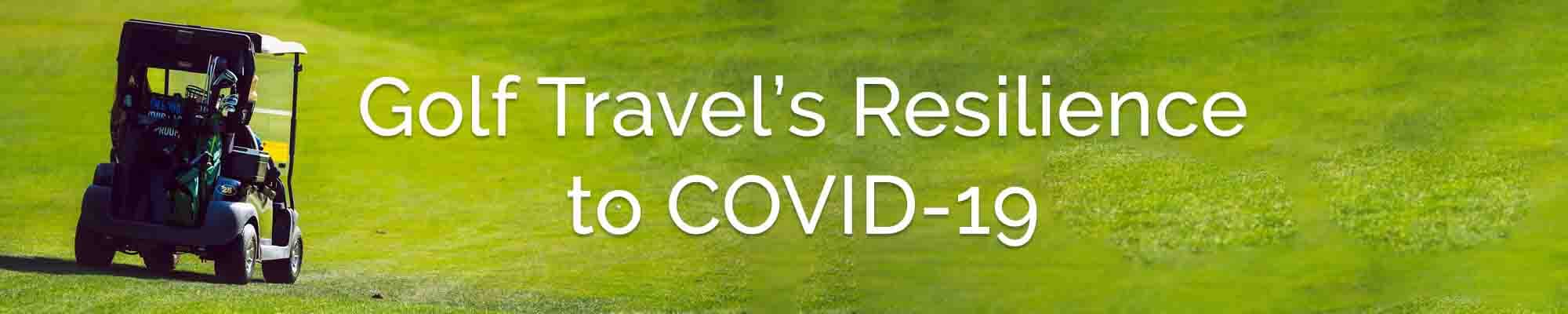 golf tourism during COVID-19