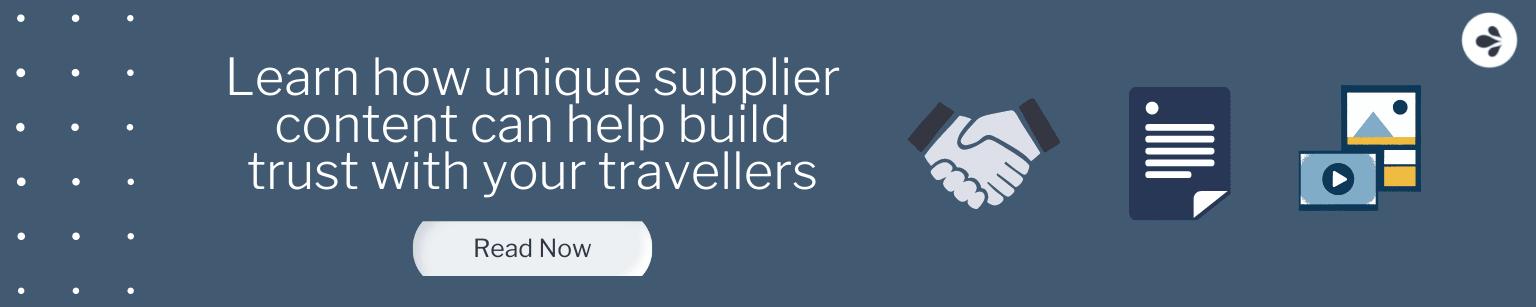 Managing supplier content